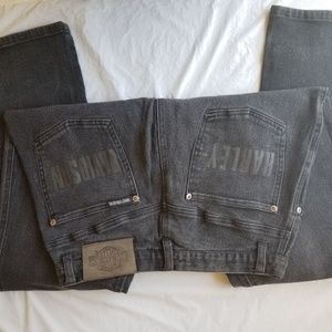 Ladies Harley Davidson jeans size 10